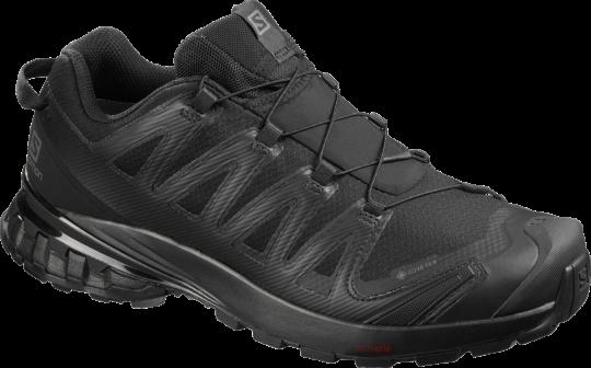 SHOES XA PRO 3D V8 GTX BLACK/BLACK/