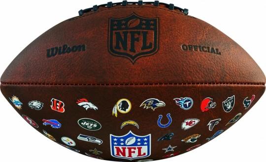 NFL OFF THROWBACK 32 TEAM LOGO